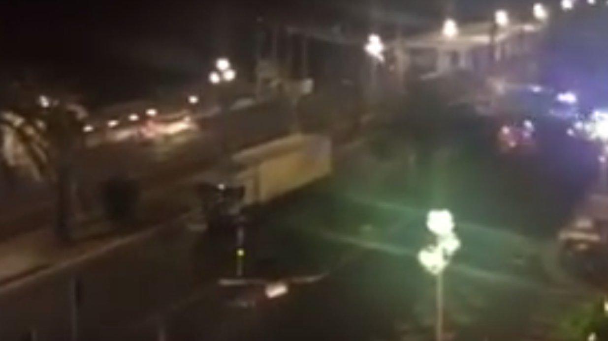 Flash: Nizza Augenzeugenvideo vom LKW