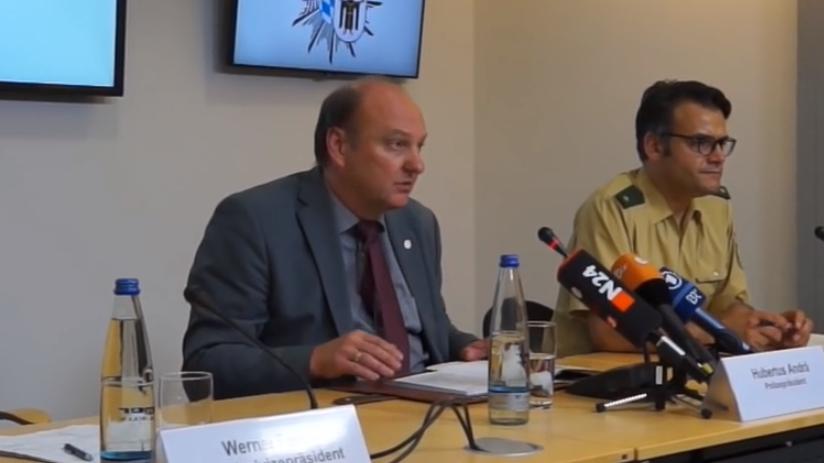 Pressekonferenz in München
