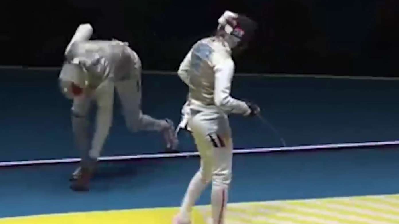 Olympia-Fechter Enzo Lefort verliert Handy beim Kampf