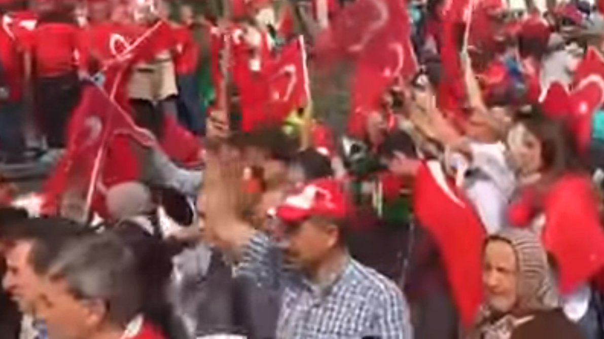 Pro-Erdogan-Demo in Köln