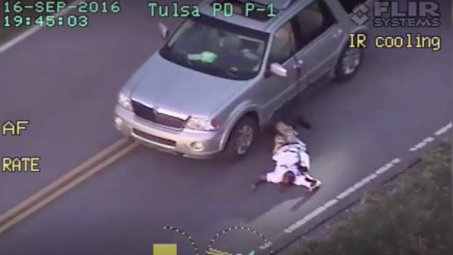 Polizeivideo aus Tulsa (Oklahoma)