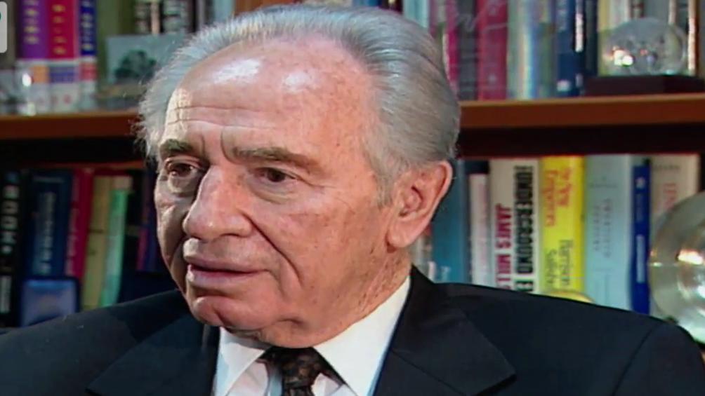 Israels Ex-Präsident Schimon Peres über den Friedensnobelpreis (dbate)