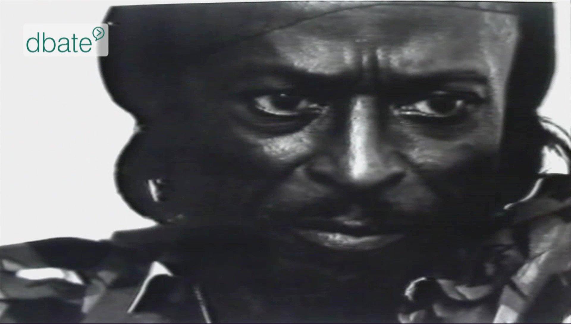 Jazzmusiker Miles Davis im Interview