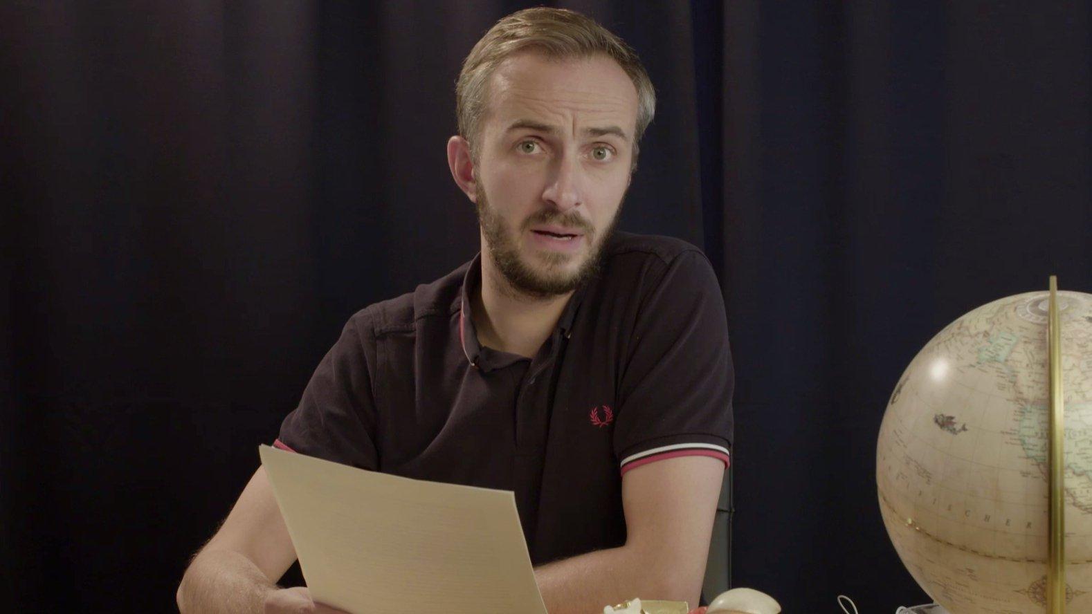 Jan Böhmermann-Erklärung auf YouTube