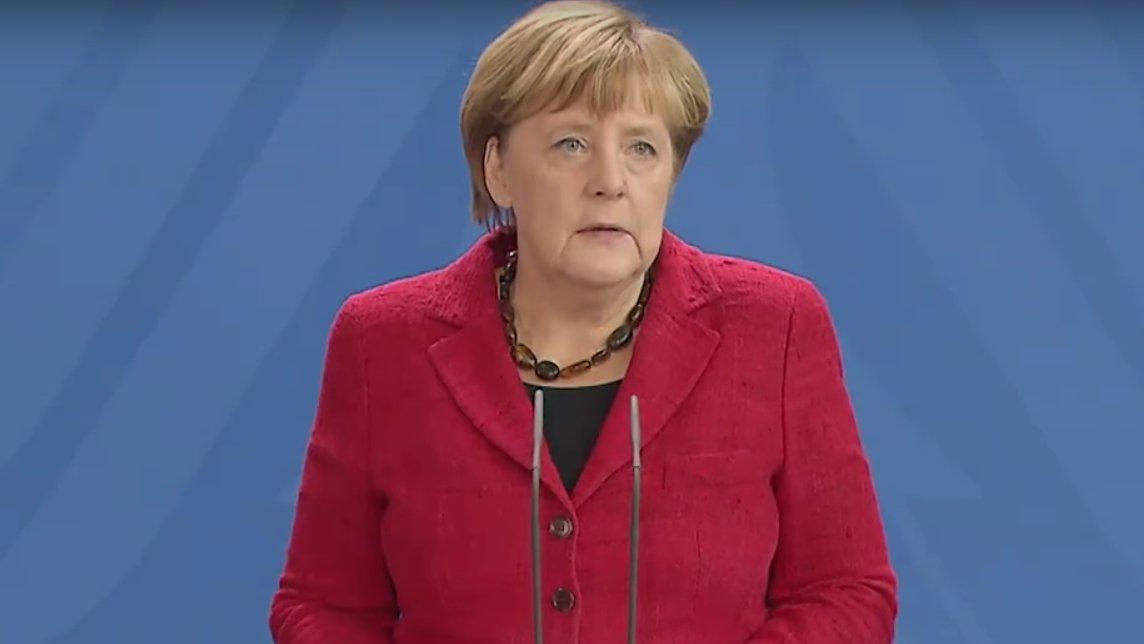 Angela Merkel zum Wahlsieg von Donald Trump