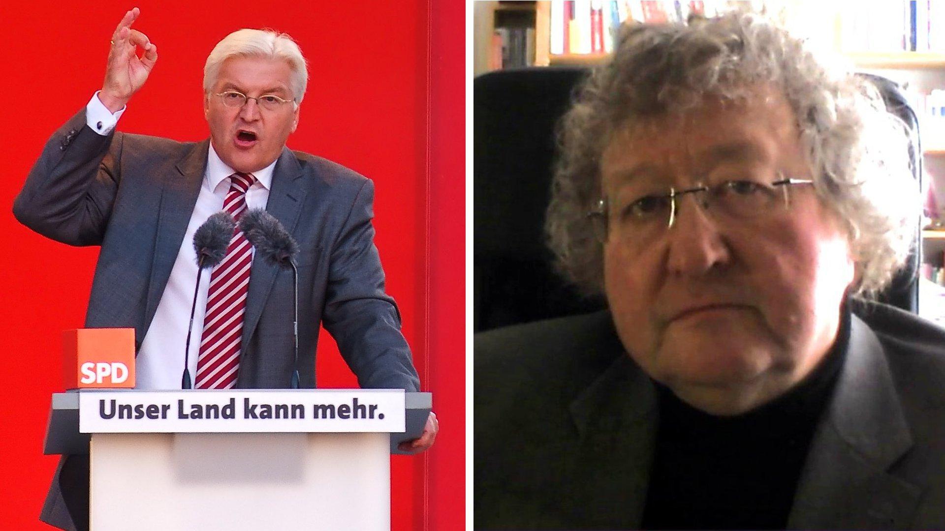 Was passiert, wenn Steinmeier Bundespräsident wird? Politologe Wener J. Patzelt im dbate-Interview