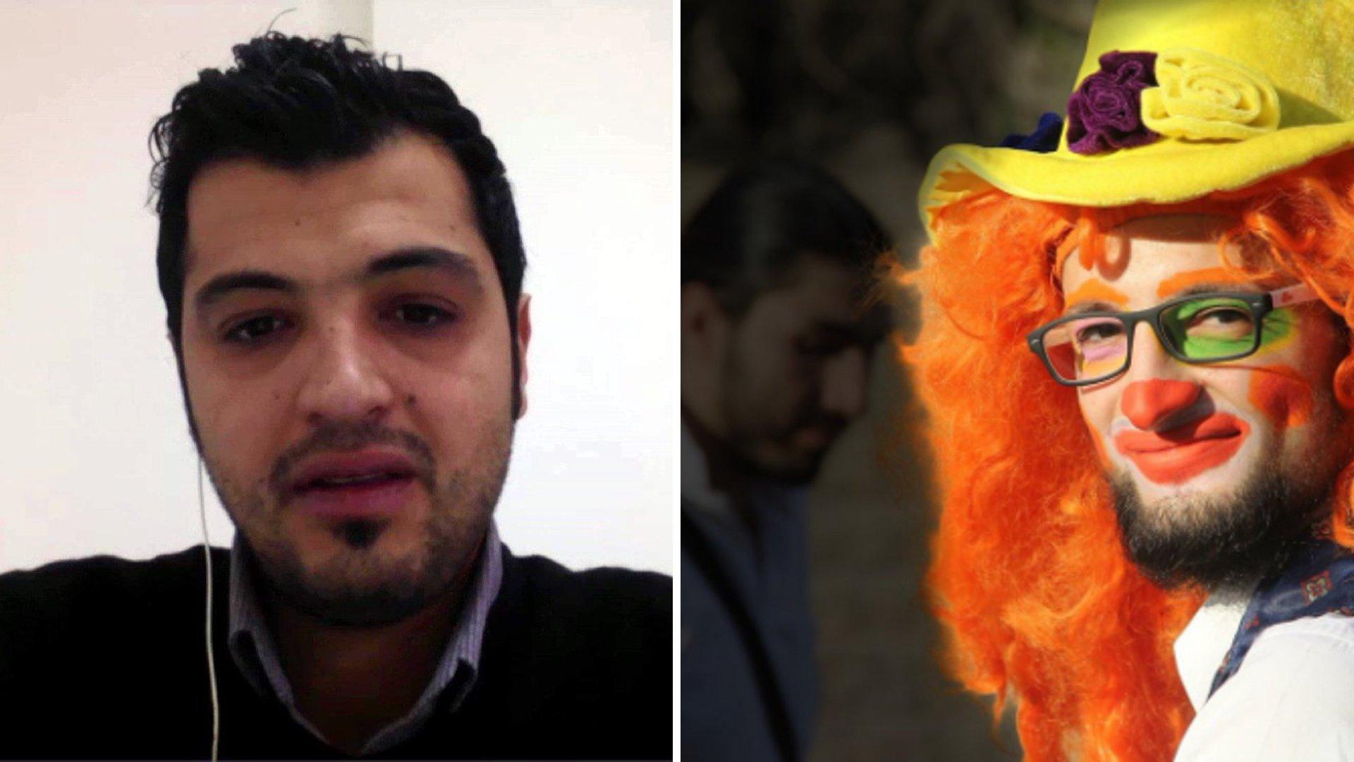 Clown von Aleppo: Interview mit Bruder des getöteten Sozialarbeiters