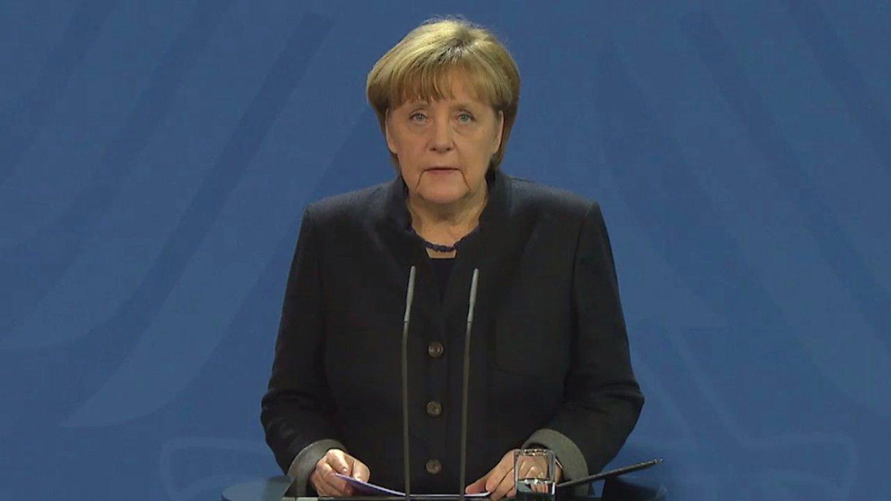 Merkel äußert sich zum Anschlag in Berlin
