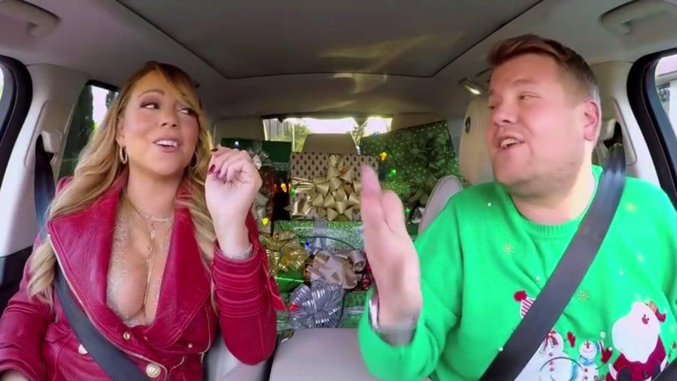 Carpool-Karaoke: Weihnachts-Special mit Mariah Carey & Co.