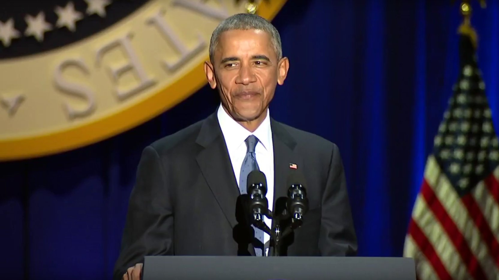 Emotionaler Abschied von Barack Obama