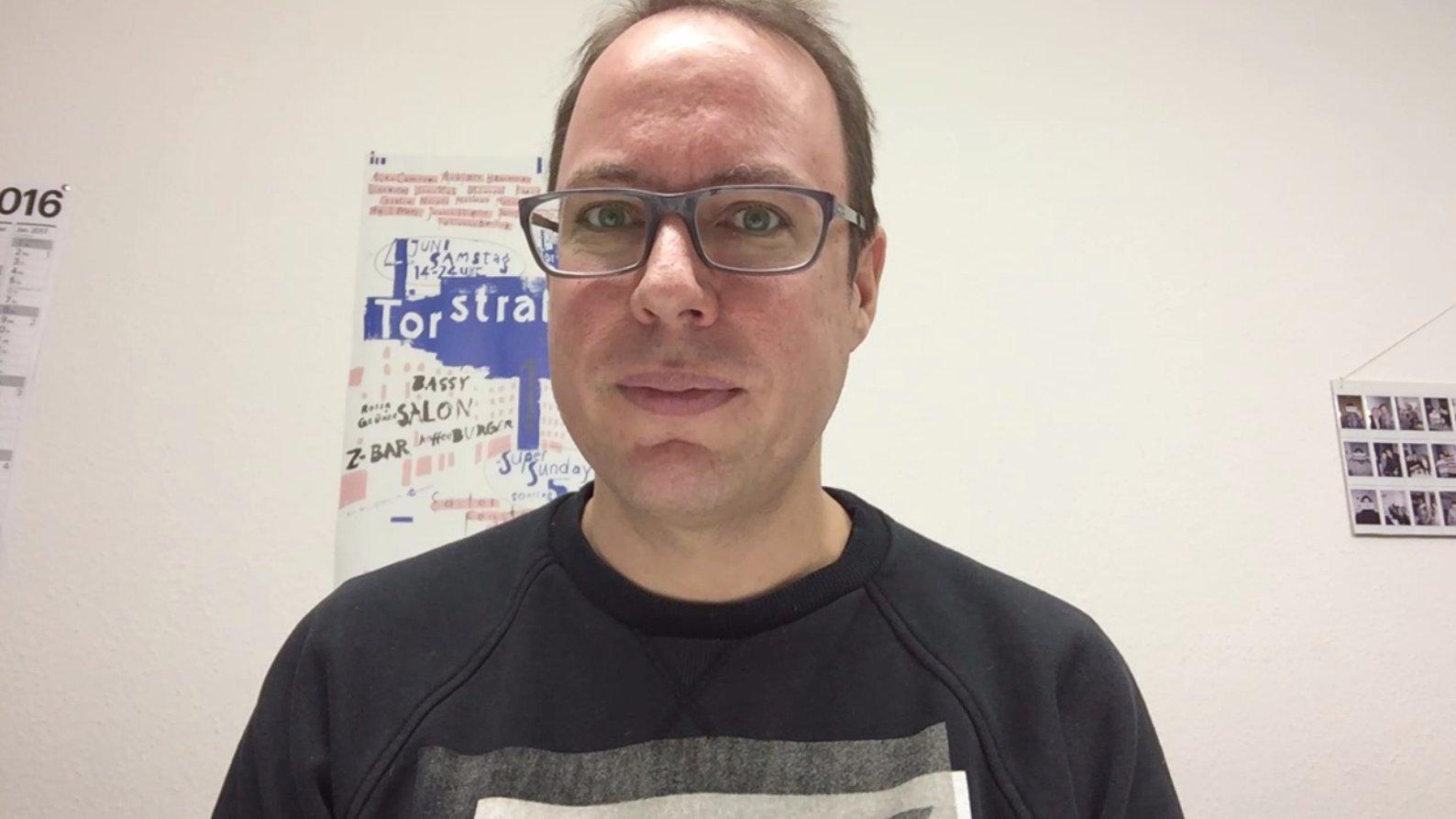 Blogger Markus Beckedahl (netzpolitik.org) über Fake News