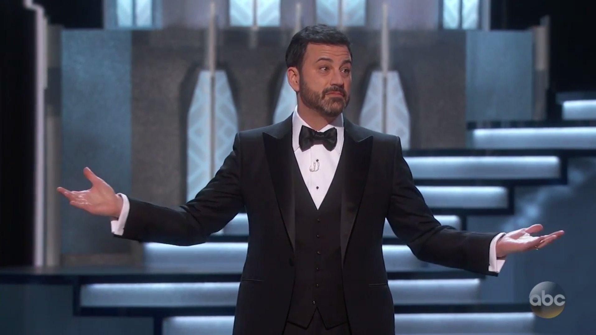 Oscars: Jimmy Kimmel witzelt über Trump