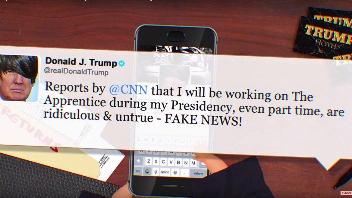 Warum so traurig, Mr. Trump? – Trumps Tweets als Emo-Song
