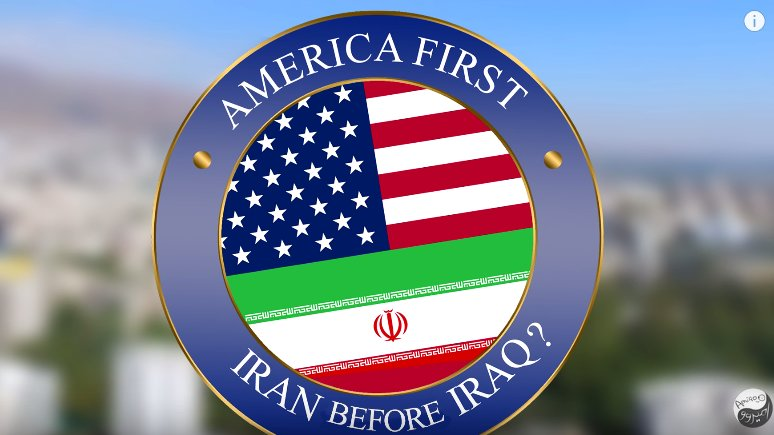Iran bitte vor Irak, Mr. Trump! #Everysecondcounts