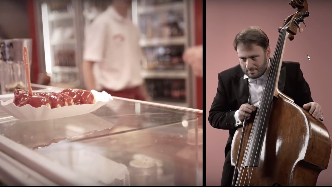 Konzerthaus Berlin: Orchester imitiert Sounds: So klingt eine brutzelnde Currywurst