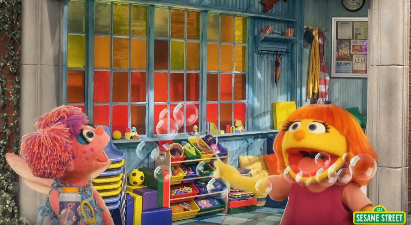 Erste autistische Figur in der Sesamstraße