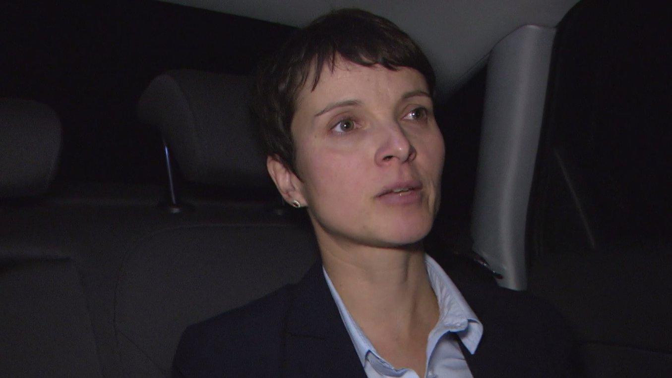 "Frauke Petry im Interview, Ausschnitt aus ""Nervöse Republik"" 19.4.2017 ARD"