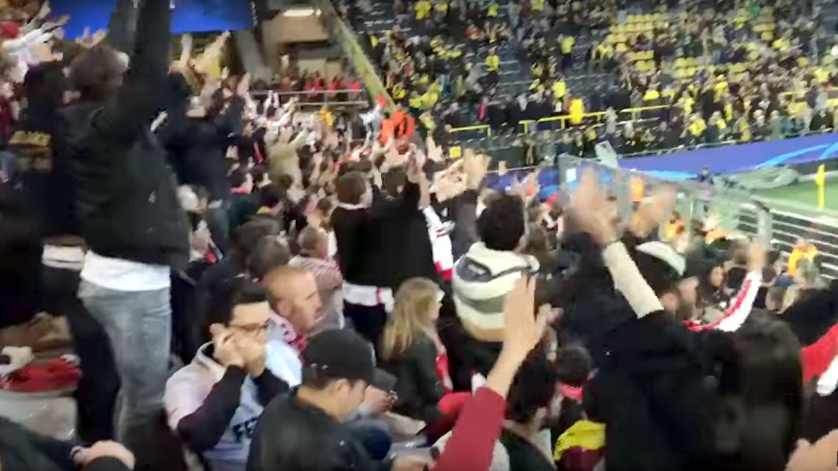 """Nach Anschlag auf Bus: Monaco-Fans rufen """"Dortmund!"""""""