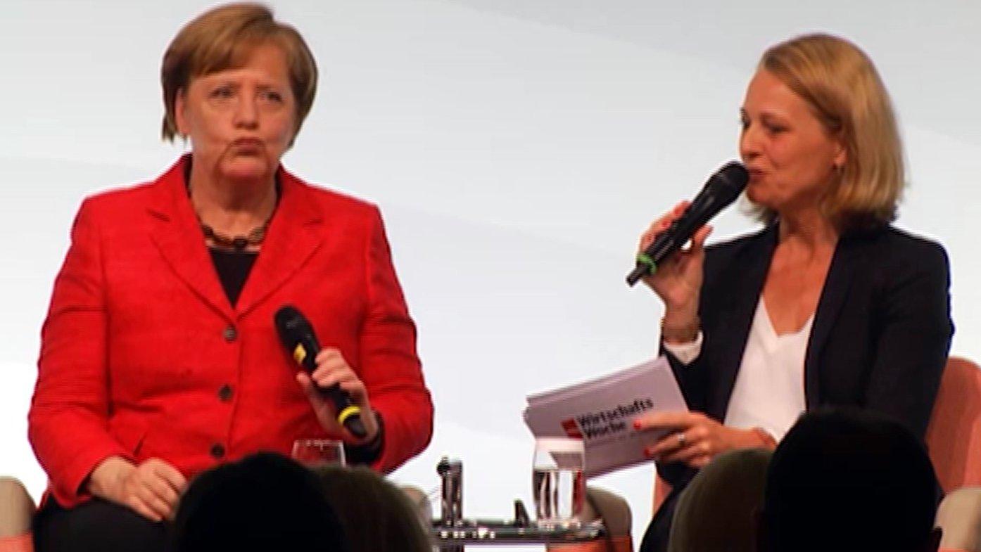 W20-Frauengipfel: Frau Merkel, sind Sie eine Feministin?