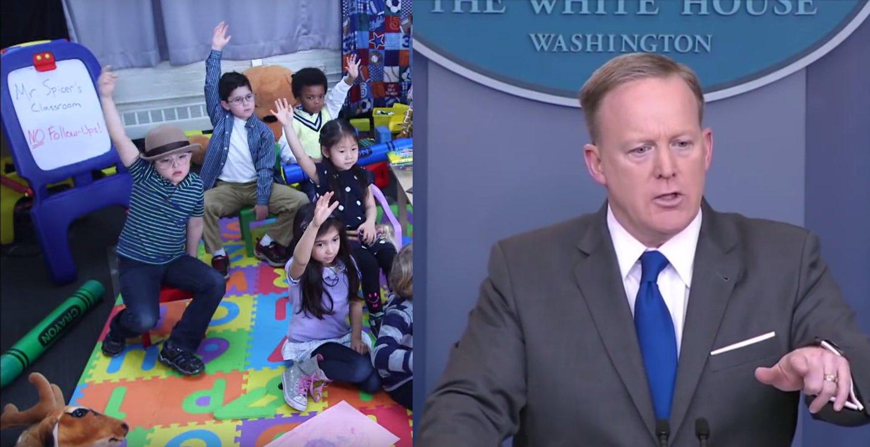 Daily Show: Kindergarten mit Sean Spicer