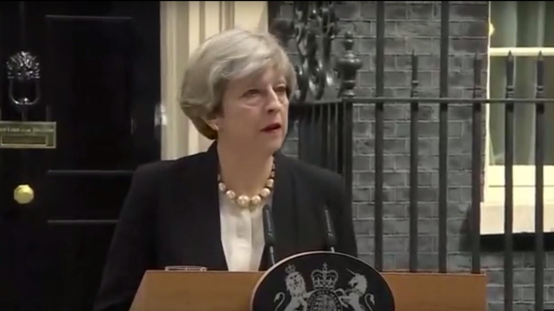 Anschlag in Manchester: Premierministerin May spricht von Terror