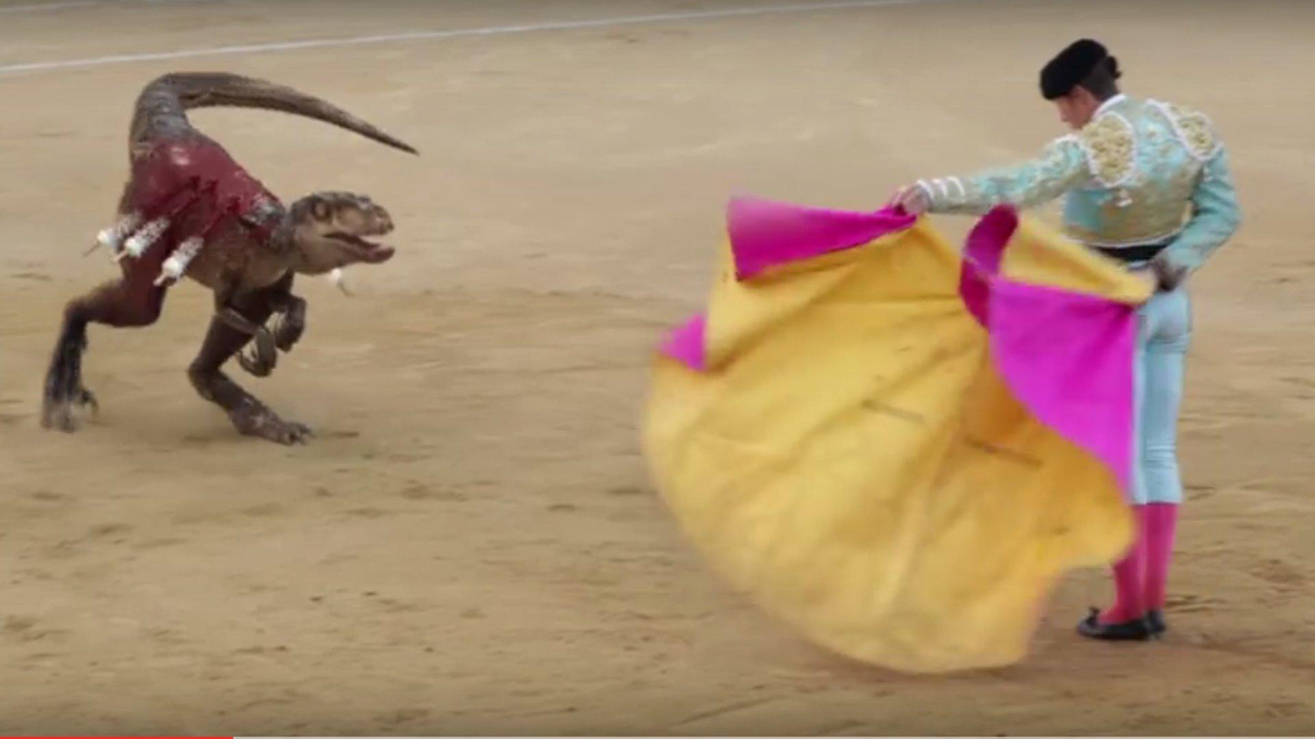 Umstrittenes Protest-Video: Stierkampf aus der Steinzeit