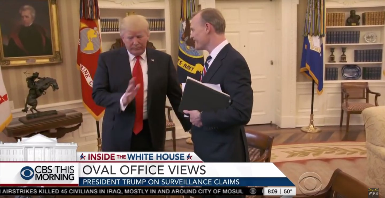 """""""Das reicht!"""" – Trump bricht genervt Interview ab"""