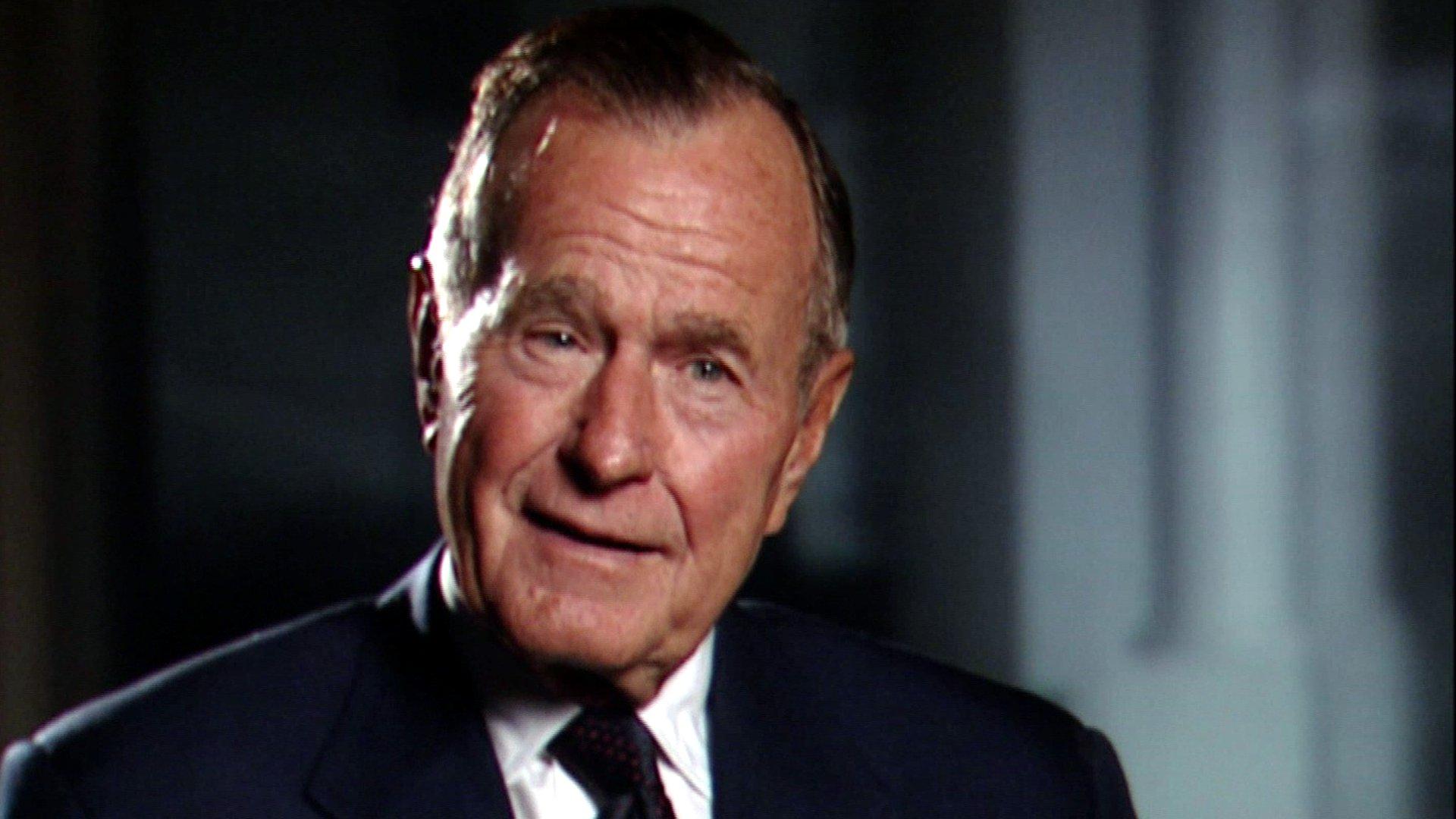 George H. Bush über Helmut Kohl und die Wiedervereinigung Deutschlands, 2003