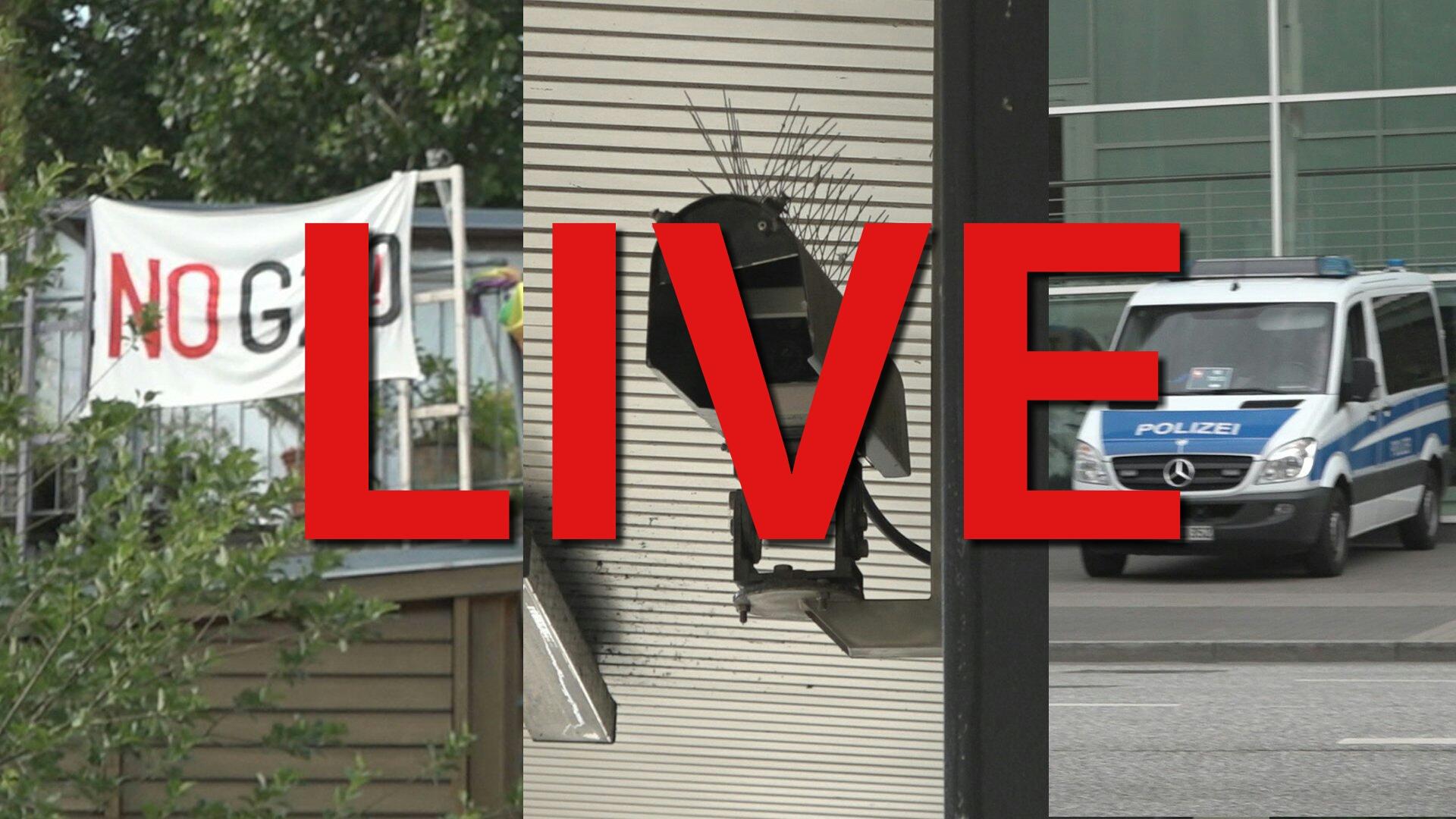 Livestream: dbate live vom G20-Gipfel in Hamburg