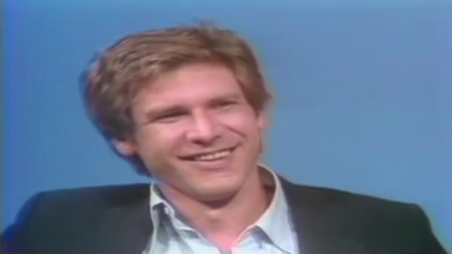 Zum 75. Geburtstag: So lief das erste TV-Interview von Harrison Ford
