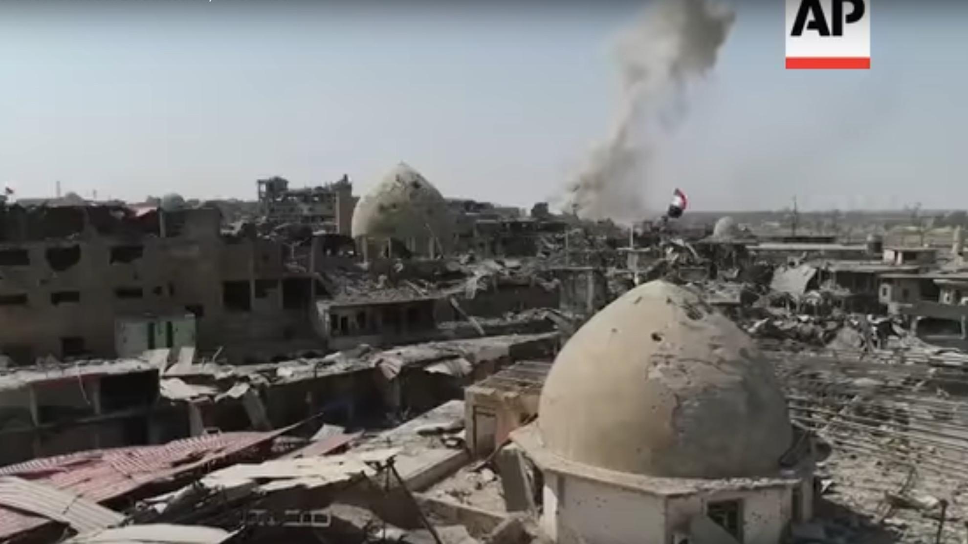 Drohnen-Video von Mossul: Das ganze Ausmaß der Zerstörung