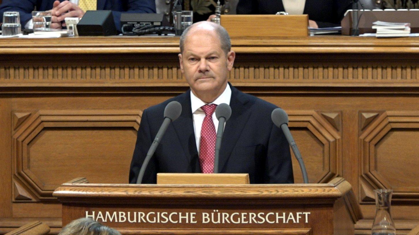 G20-Gipfel: Regierungserklärung von Olaf Scholz