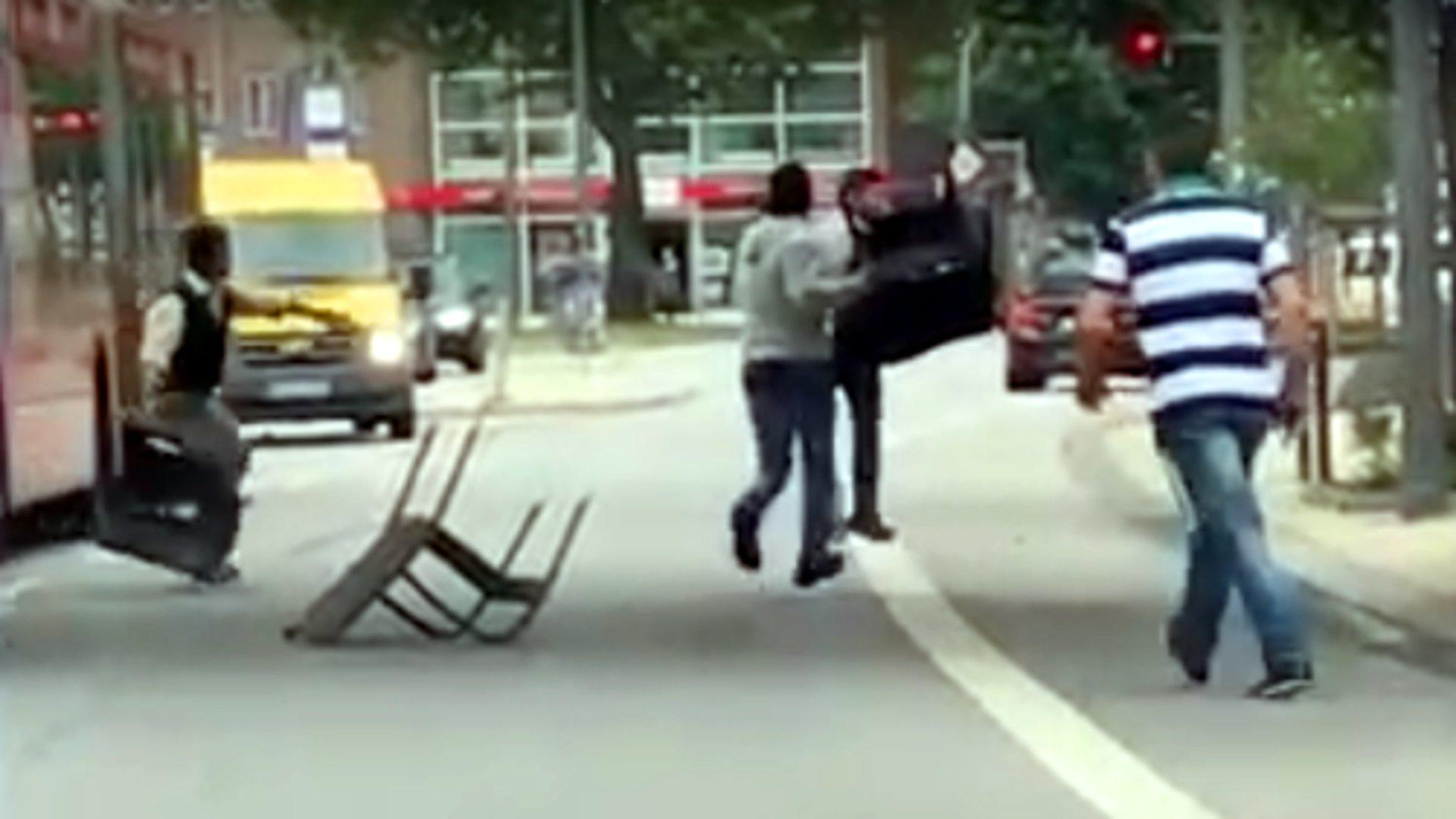 Hamburg: So verfolgten Passanten den Attentäter