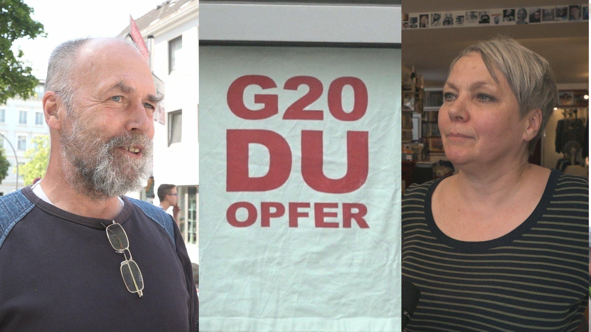 G20-Gipfel: So ist die Stimmung bei Anwohnern des Karoviertels