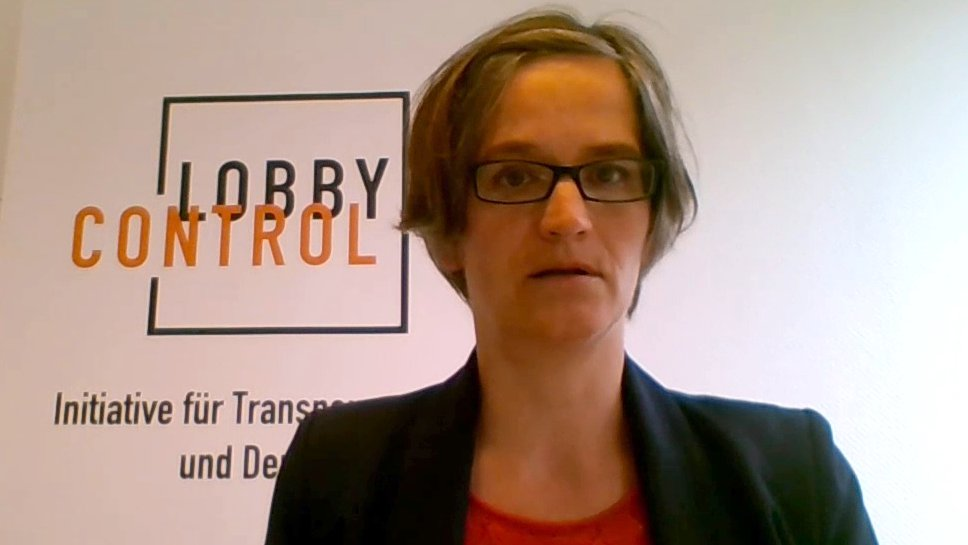 """Lobbyismus gefährdet die Demokratie"" – Imke Dierßen (LobbyControl)"