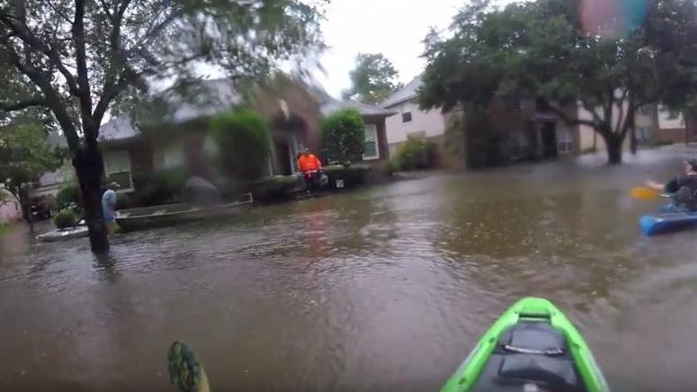 Nach Sturm Harvey: Bewegende Nachbarschaftshilfe in Texas
