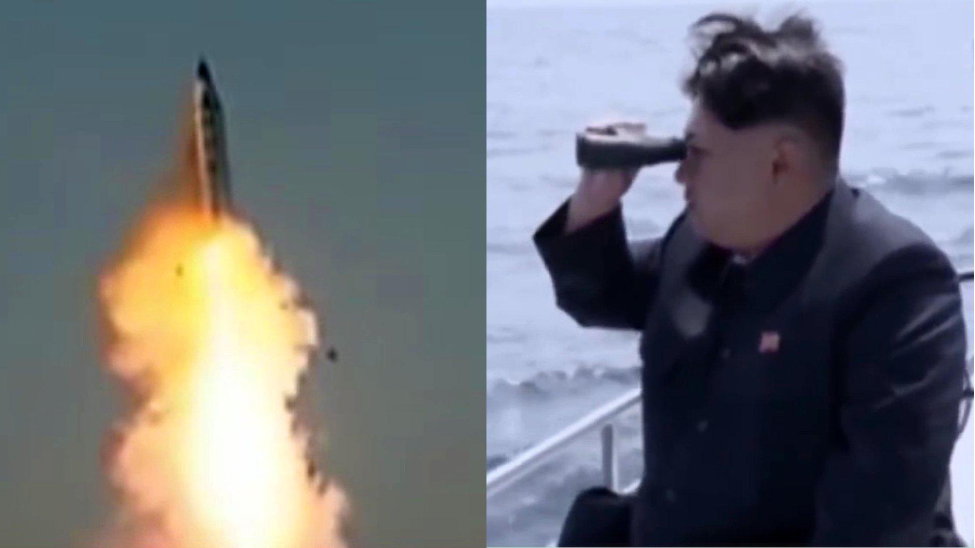 Provokation aus Nordkorea: Kim Jong-Un und seine Raketen