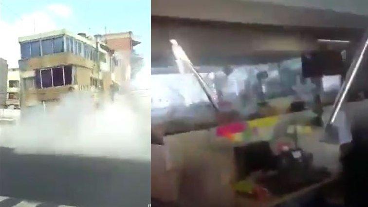 Schweres Erdbeben in Mexiko: Erschreckende Augenzeugenvideos