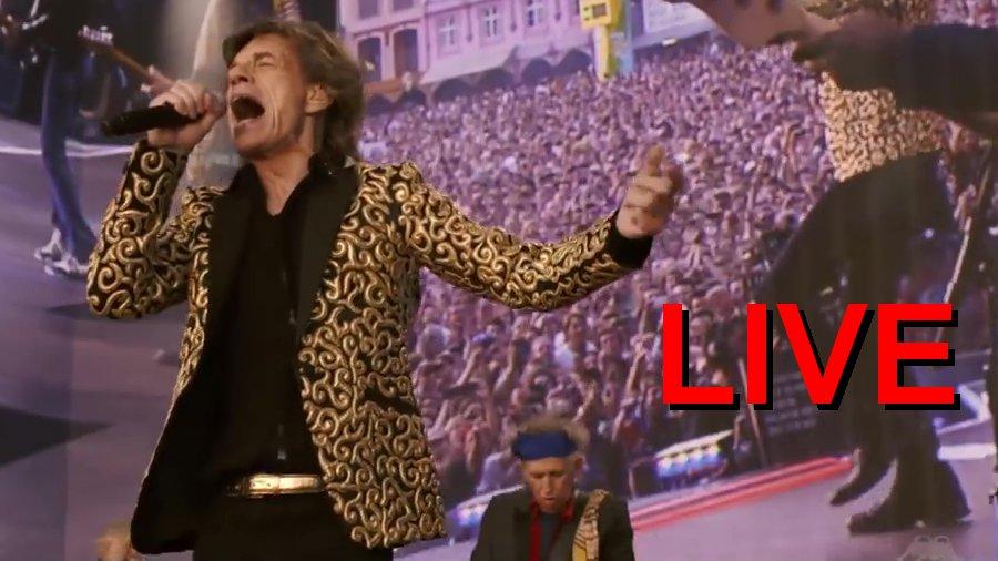 Rolling Stones in Hamburg: Wir sind live im Stadtpark