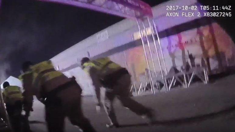 Attentat in Las Vegas: Polizei veröffentlicht Bodycam-Aufnahmen