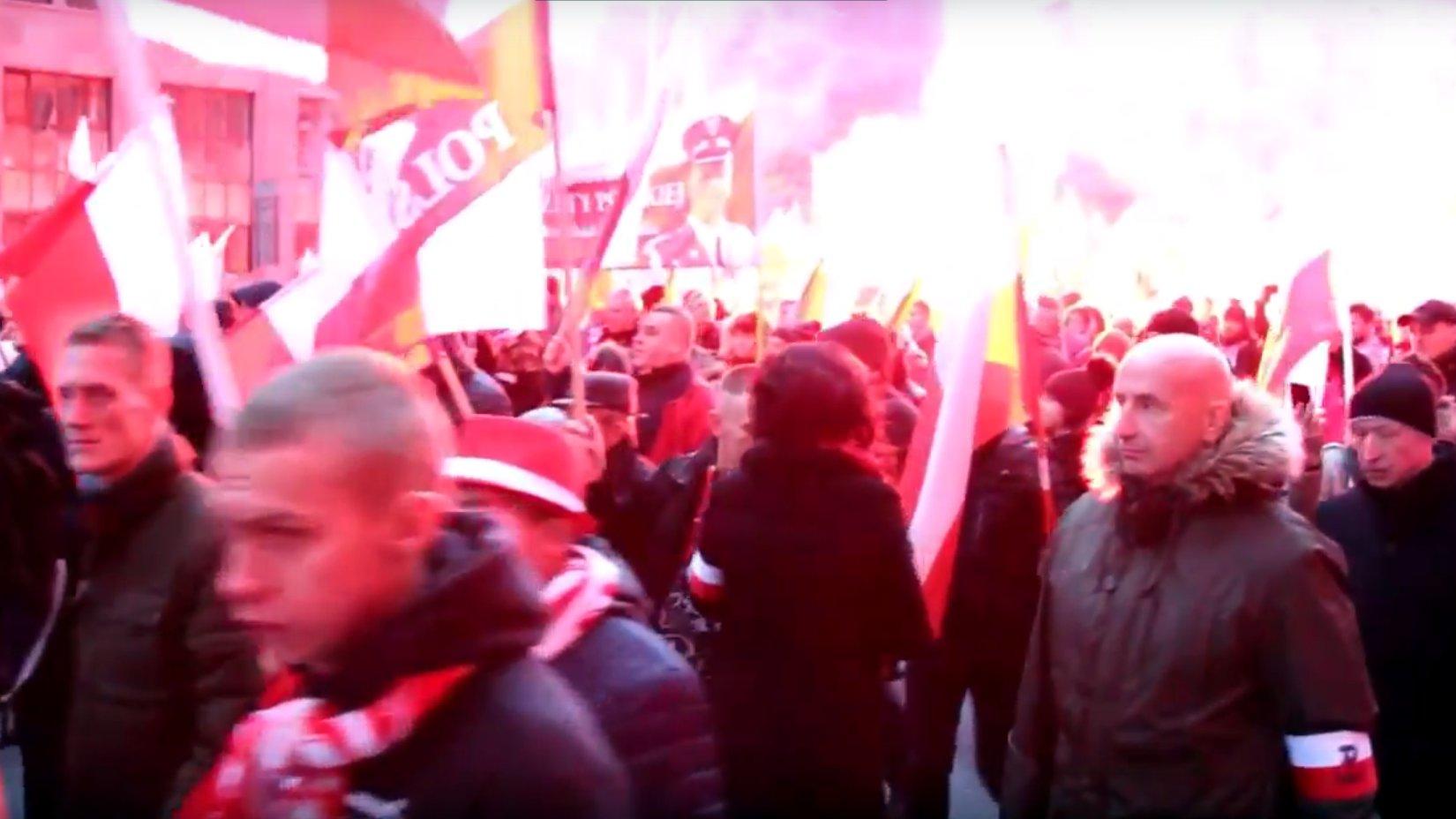 Warschau: Riesiger Nationalisten-Aufmarsch am Unabhängigkeitstag