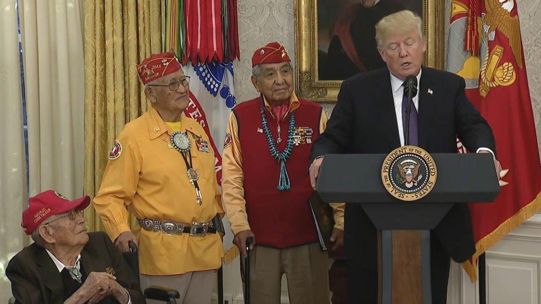 Nächster Eklat: Trump nennt Senatorin Pocahontas