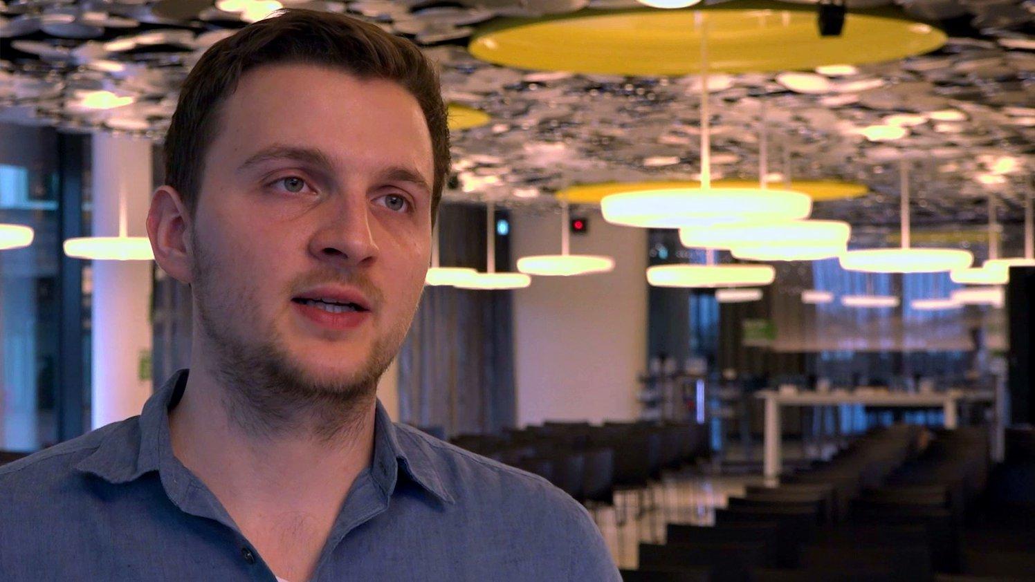 Journalist und Experte fürs Darknet Daniel Moßbrucker im dbate-Interview, 2017