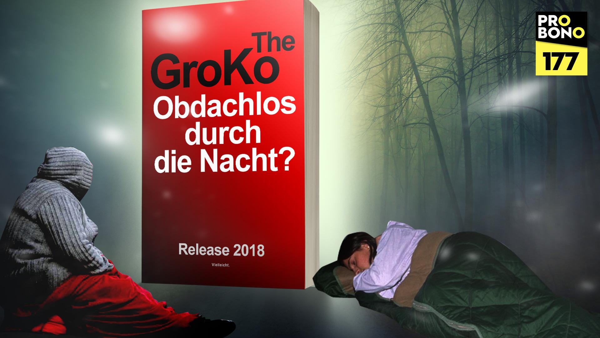 Obdachlos durch die Nacht (probono Magazin)