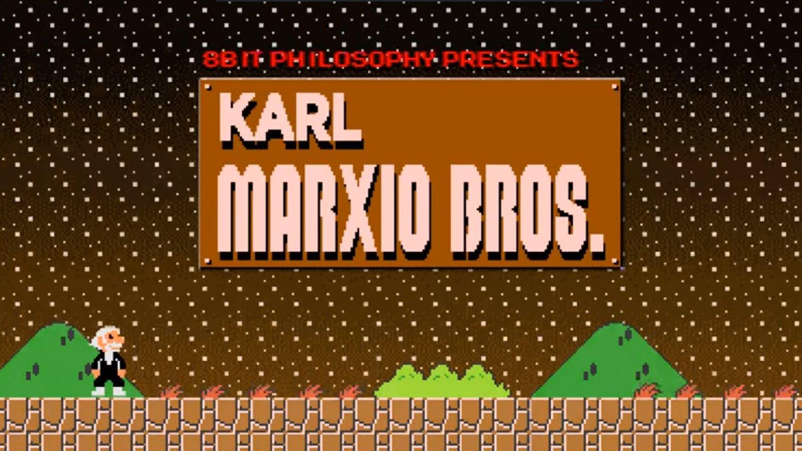 Karl Marx als Super Mario: Cooles Erklärvideo zum Marxismus