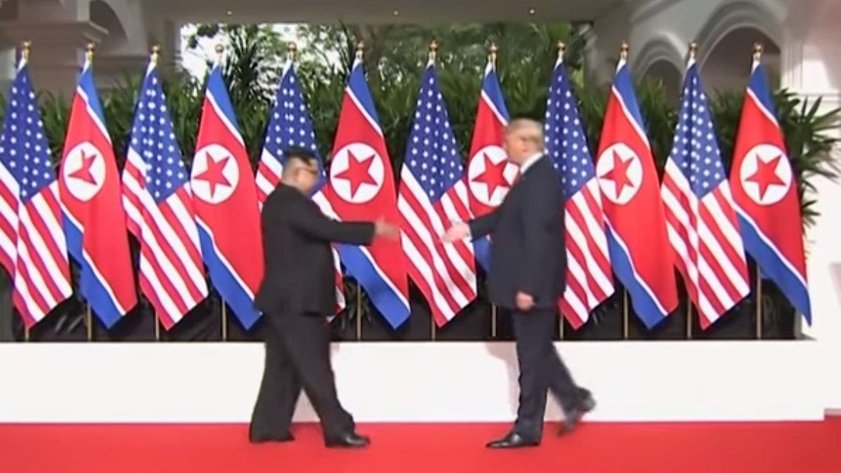 Historischer Handschlag: Das Treffen von Trump und Kim Jong-Un