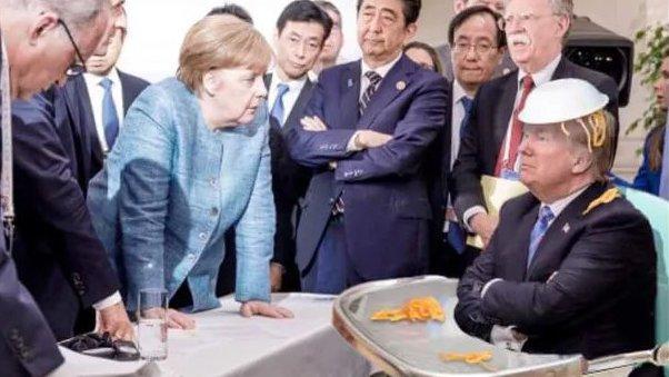 Was vom G7-Gipfel bleibt: Twitter-Reaktionen auf ein vielsagendes Bild