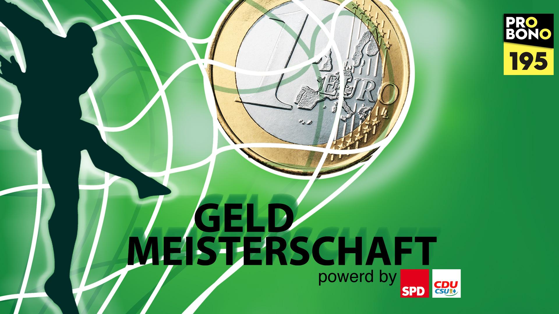 Geld-Meisterschaft: Mehr Geld für deutsche Parteien (probono Magazin)