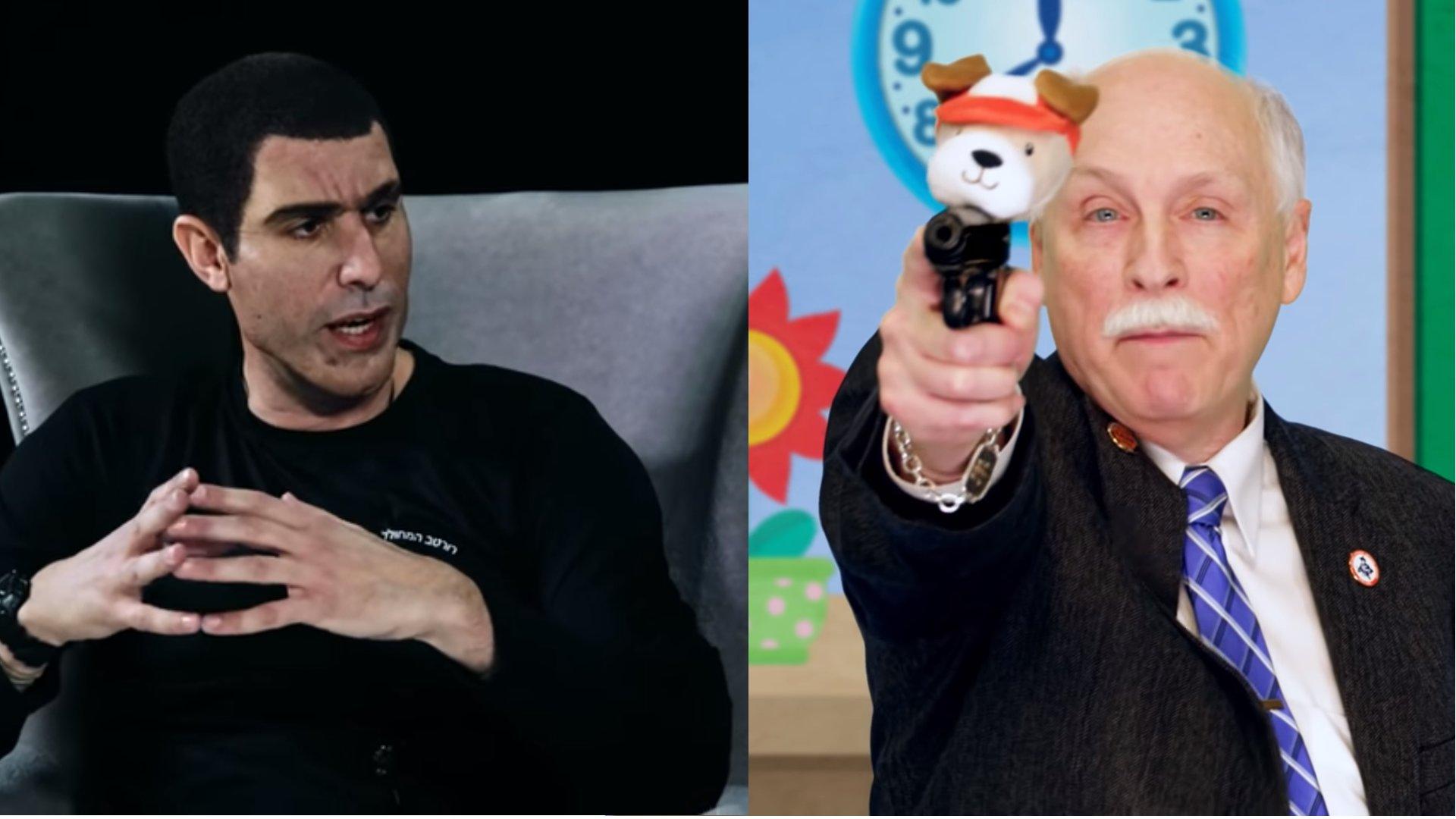 Satire gegen Waffenbesitz: Sacha Baron Cohen will Kinder bewaffnen