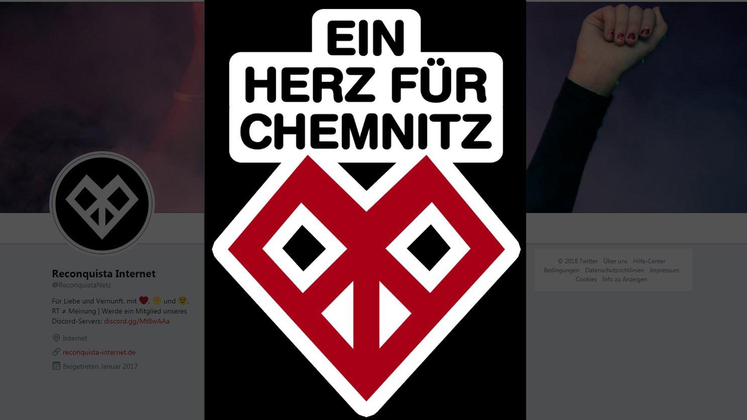 Hashtag-Aktion nach Nazi-Aufmarsch: Ein Herz für Chemnitz